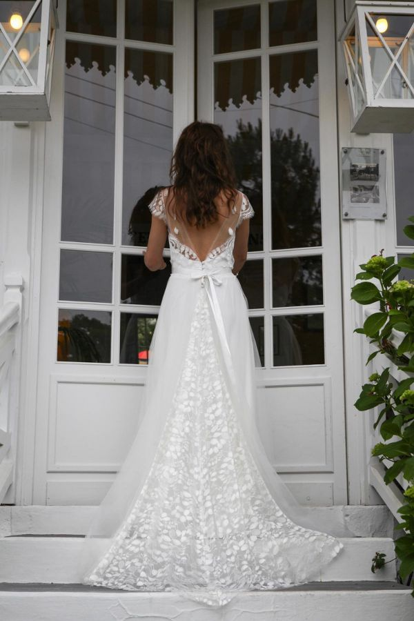 Marie laporte 2016 for Rebecca robe mariage taylor