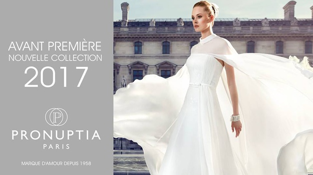 Aperçu de la collection de robes de mariée Pronuptia 2017, le ...