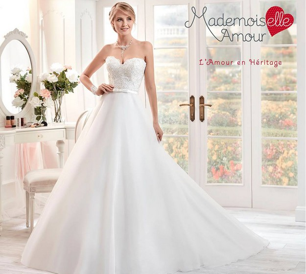 La robe de mariée Freya issue de la collection 2017 de Pronuptia ...