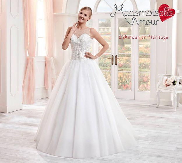 La robe de mariée Romane issue de la collection 2017 de Pronuptia ...