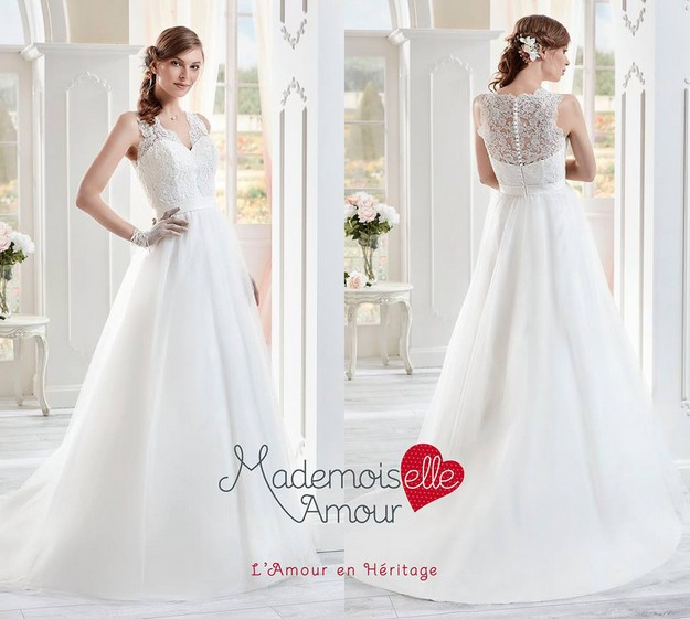 La robe de mariée Yaelle issue de la collection 2017 de Pronuptia ...