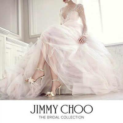 Zoom sur la collection Mariage 2016 des chaussures Jimmy Choo. © Jimmy Choo