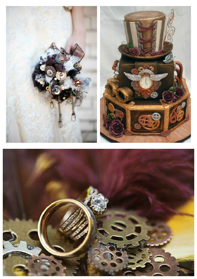 Un mariage sur le th me steampunk for Les decorations