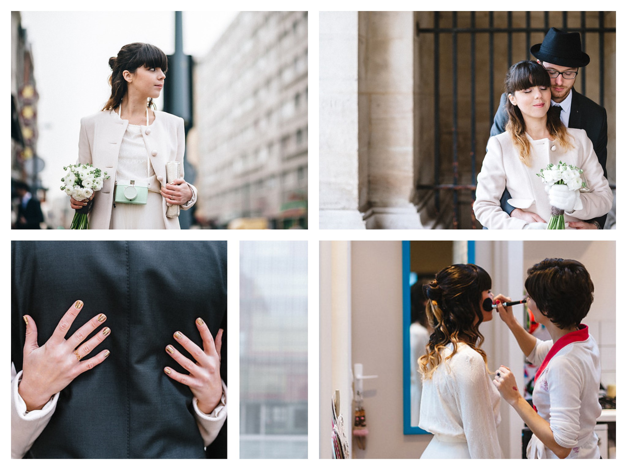 Pauline fashion blog mariage Le total look rose bonbon Mode and The City