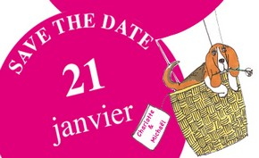 Save the date créé par Alexialand