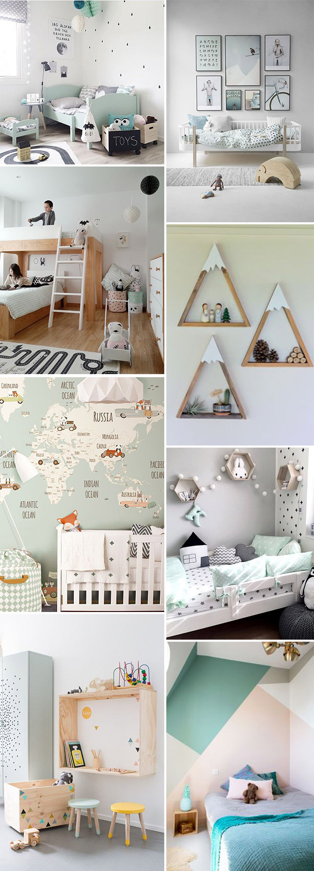 Awesome idee deco chambre bebe mixte contemporary for Decoration chambre jumeaux mixte