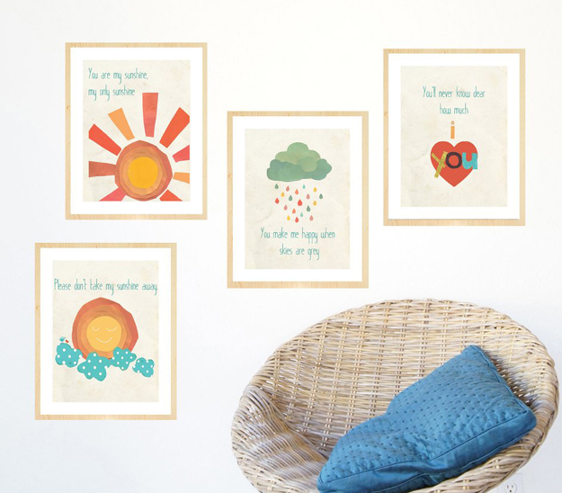 Poster Nursery Rhymes