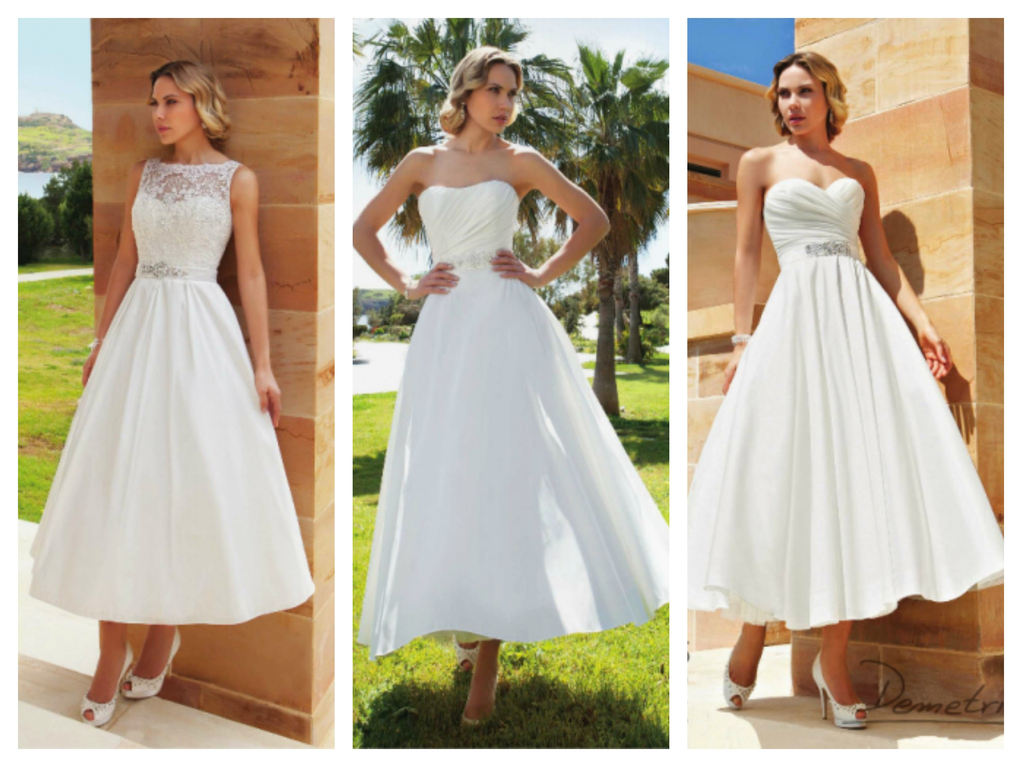 Robes midi collection Demetrios mariage 2014