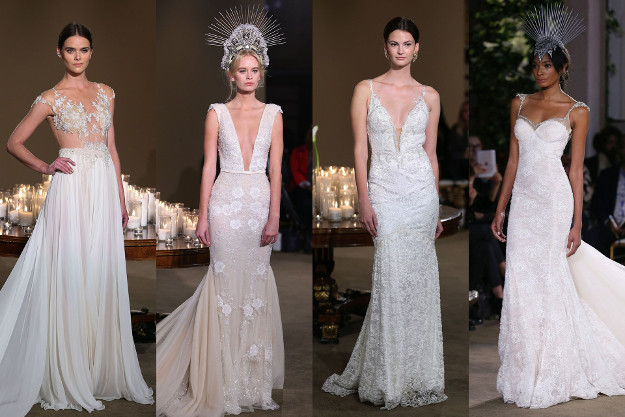 Robes de mariée Automne 2016 par Galia Lahav. Bridal Week de New-York