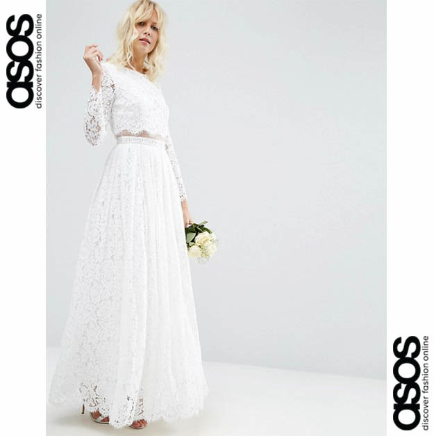Robes de mariée Asos : nouvelle collection
