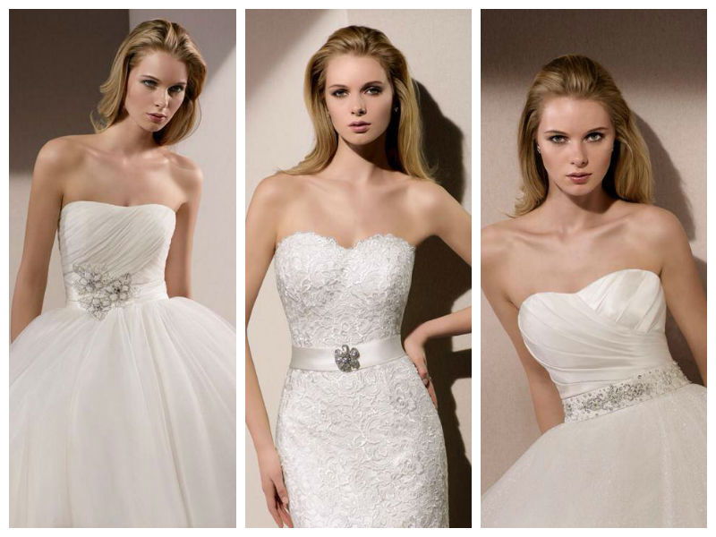 Divina Sposa, robes de la collection 2015 : details de ceintures