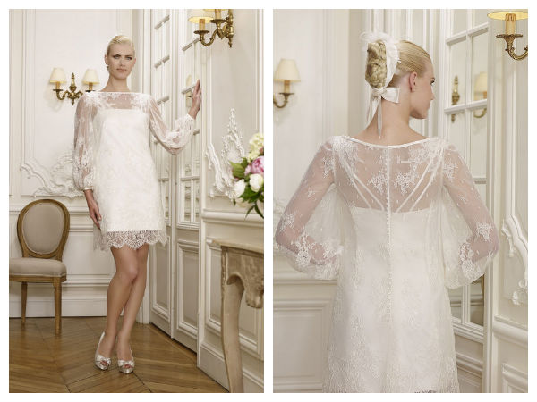 Pronuptia et mademoiselle amour les collections 2015 - Robe style charleston pour mariage ...